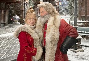 Курт Рассел и Голди Хоун снялись вместе впервые после фильма «Человек за бортом»