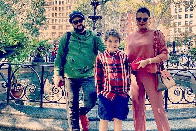 «Счастье ребенку, няне — инфаркт»: Анна Нетребко показала, начем катается ее сын вНью-Йорке