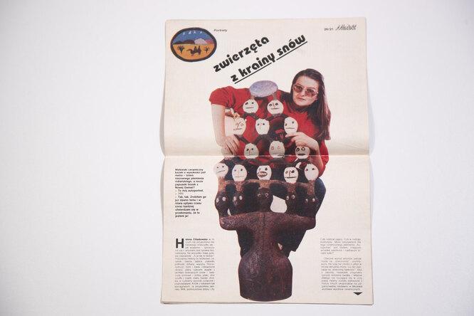 Разворот польского журнала Mladost 1978 года