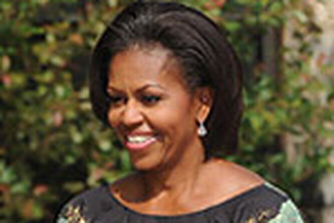 Мишель Обама обманывает президента