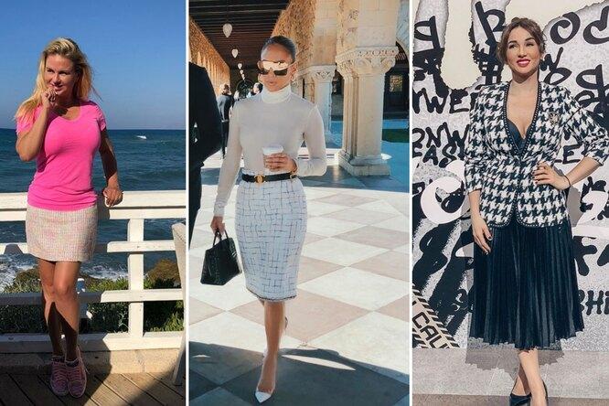 5 звёзд спышными формами, которые умеют носить юбки