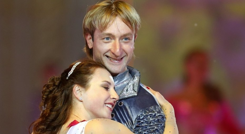 С кем был «красивый блондинчик» Евгений Плющенко доРудковской