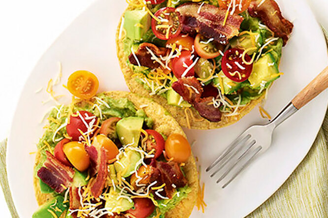 Тостадас с авокадо