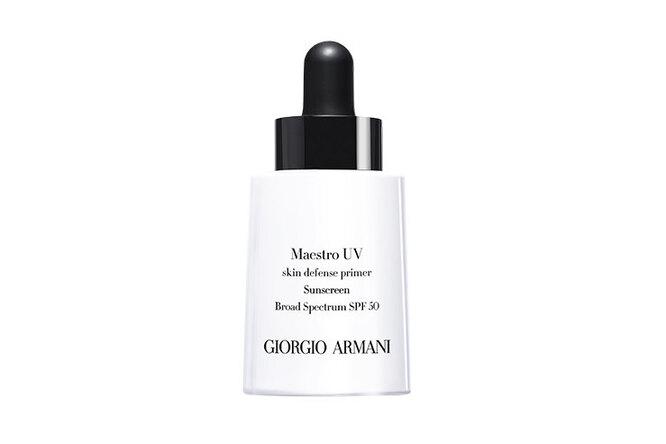 Cолнцезащитный праймер Maestro UV Skin Deffense Primer SPF 50 PA ++ от Giorgio Armani Beauty