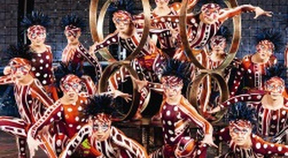 Новое шоу Cirque Du Soleil вМоскве