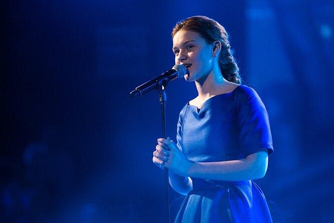 фото: кадры из шоу «Голос. Дети» на Первом канале