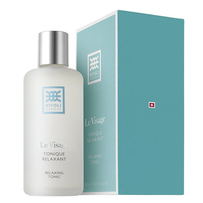 Средство для очищения и тонизации кожи с экстрактом овса, аллантоином и бисабололом Le Visage Tonique Relaxant, RIVOLI