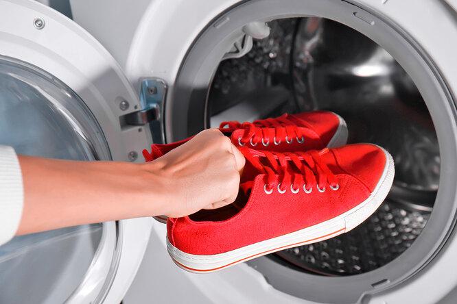 Кеды икроссовки. Как правильно их стирать встиральной машине?