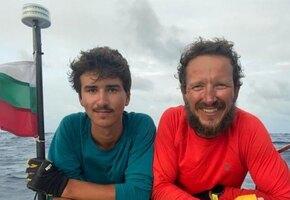 Отец и 16-летний сын пересекли на вёслах Атлантику за 105 дней