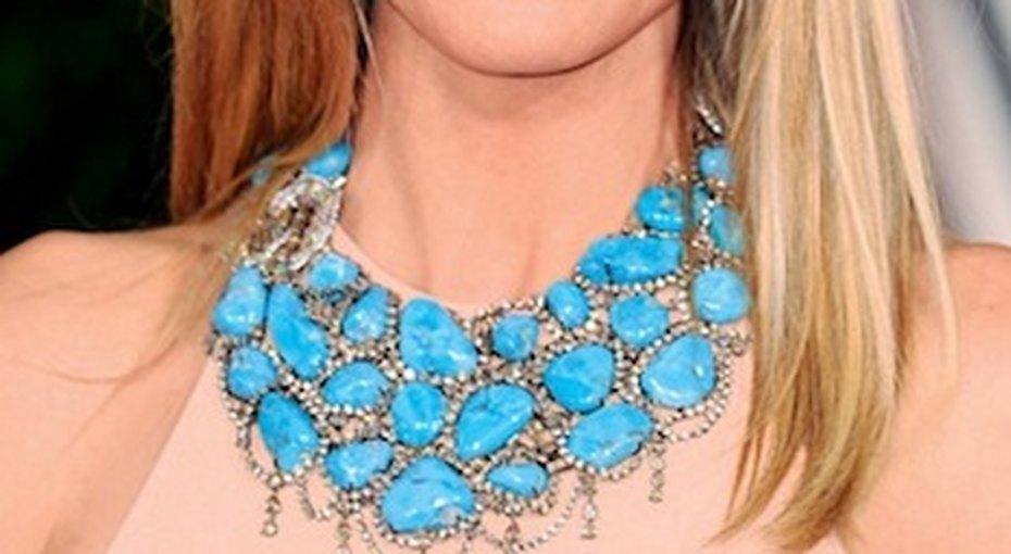 Звездный стиль: крупное ожерелье