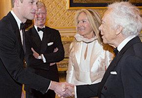 Принц Уильям извинился перед модельером Ральфом Лореном