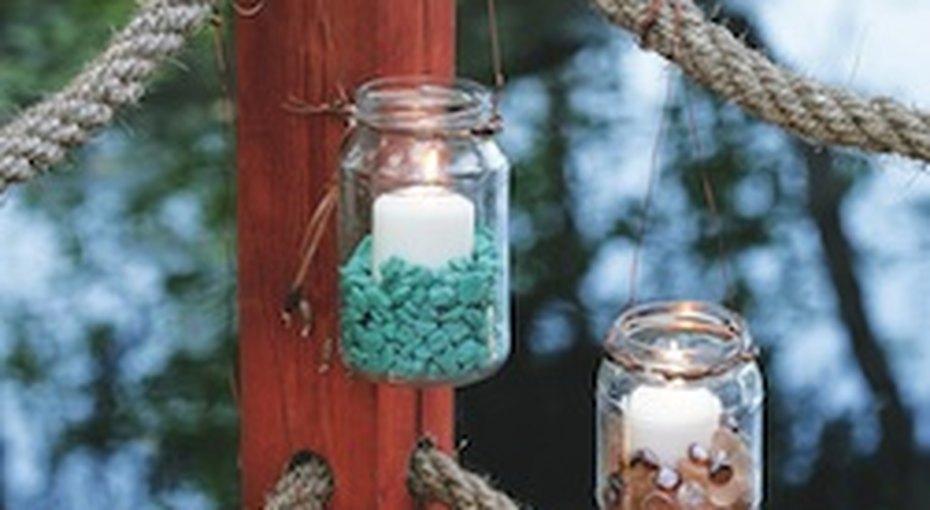 Свечи длясада