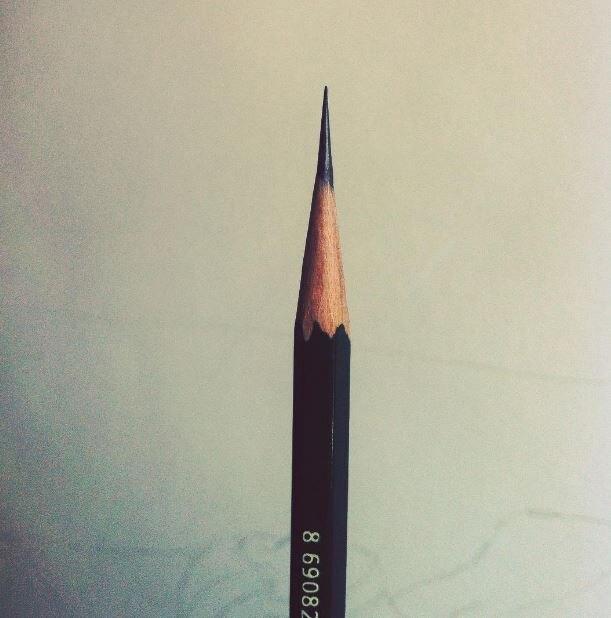 Безупречно заточенный карандаш