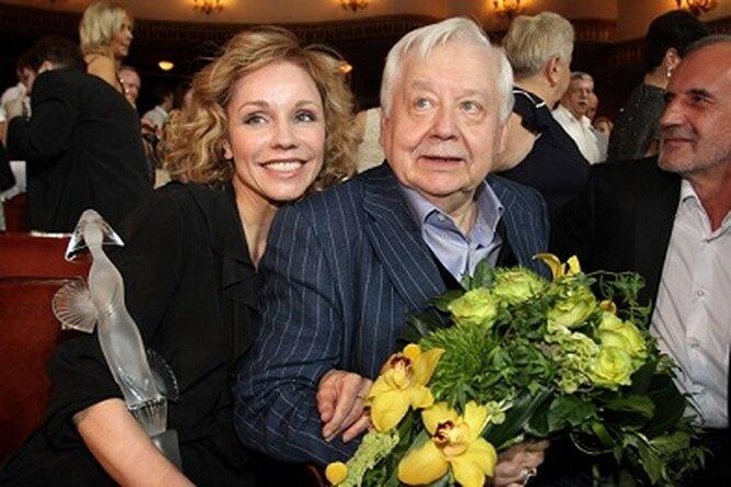 Олег Табаков иМарина Зудина рассказали, как завязался их роман