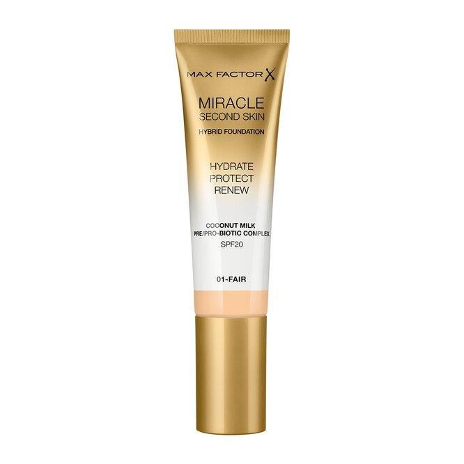 Тональная основа Miracle Touch Second Skin, 557 руб