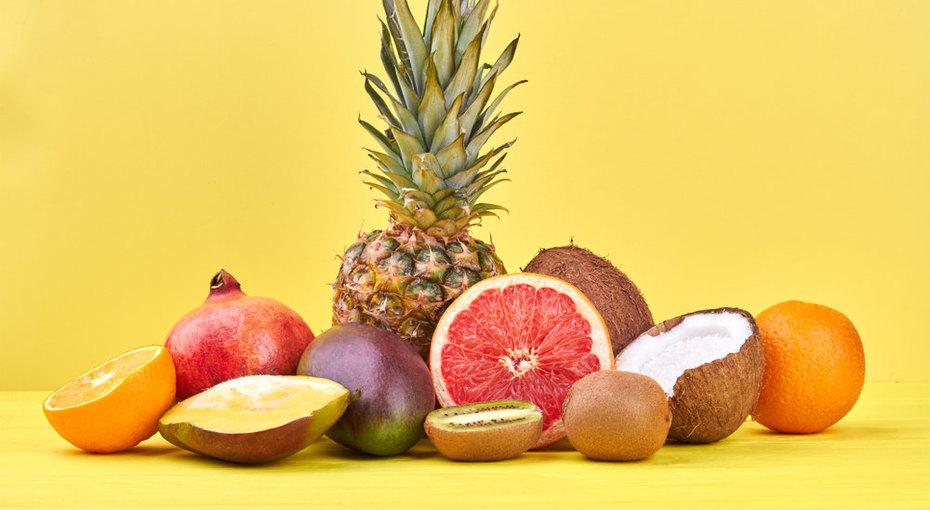 Гранат, ананас, апельсин, киви: как быстро иправильно почистить фрукты