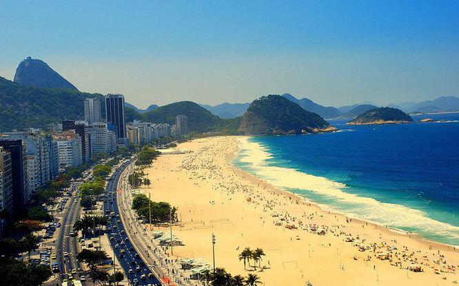 Пляж в Рио-де-Жанейро. Ожидания