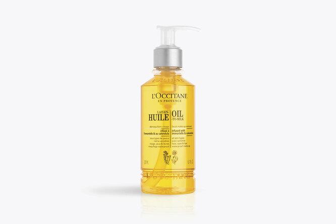 Очищающее масло для лица с календулой и иммортелем, L'Occitane