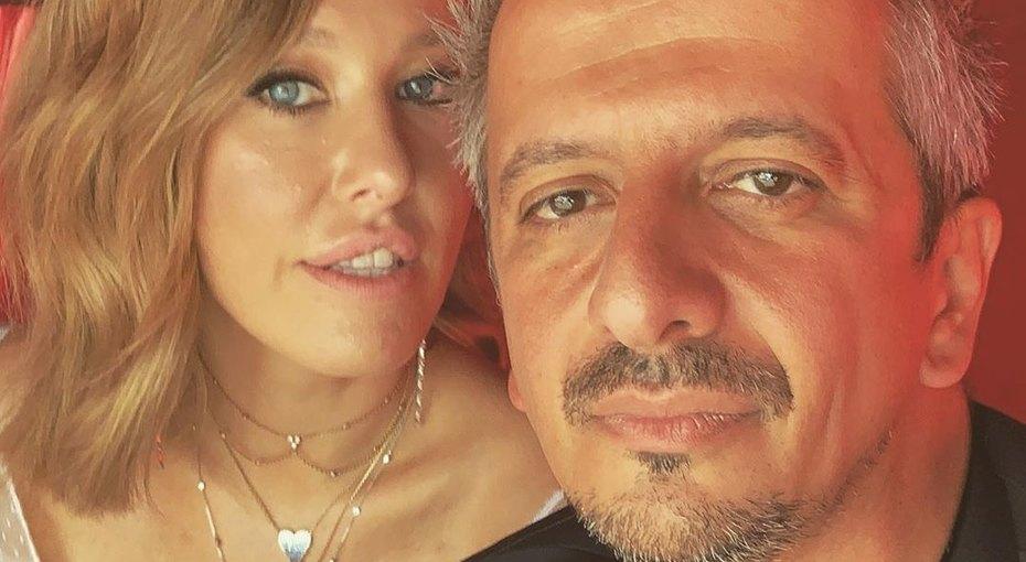 Свадьба Ксении Собчак: катафалк итанцы вЗАГСе