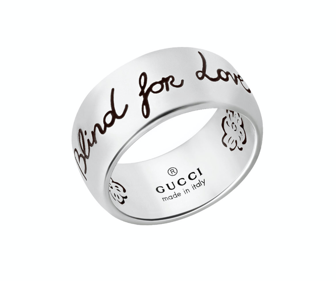 Кольцо Blind For Love, Gucci, 24 650 руб