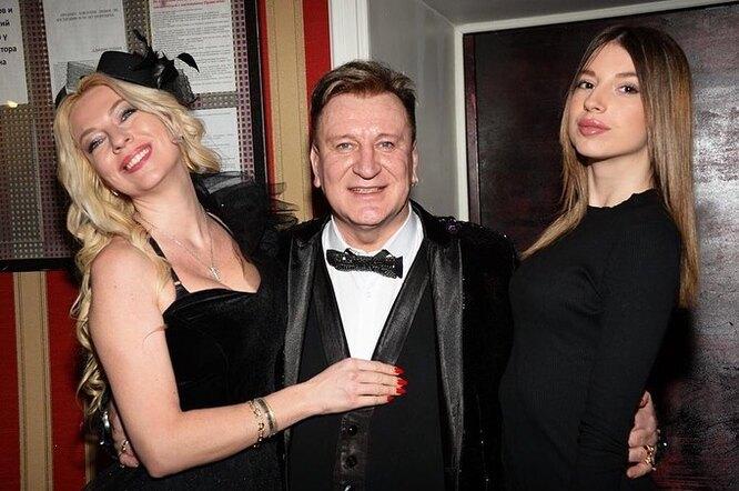 Сергей Пенкин с Владленой и Алиной