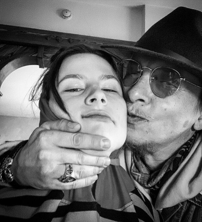 Иван Охлобыстин с дочерью