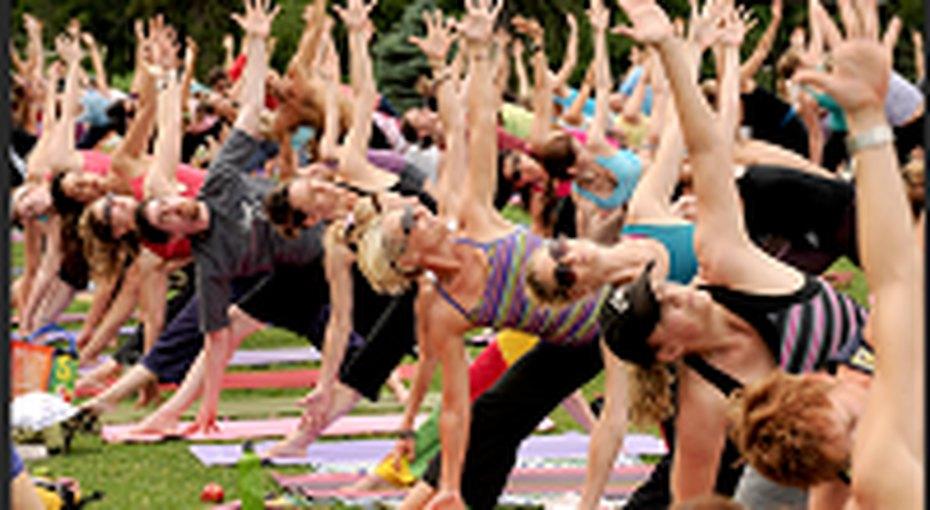 Благотворительный Марафон Yoga Journal