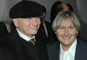 Вдова и дочери Юрия Лужкова приехали на открытие памятника ему в Москве