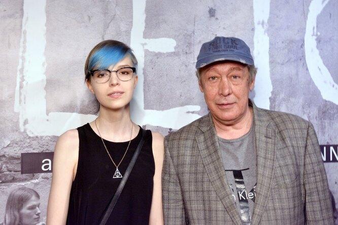 Михаил Ефремов и Анна Мария