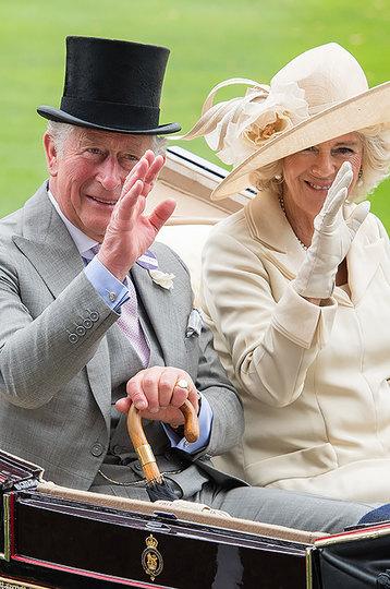 Принц Чарльз  и герцогиня Корнуольская