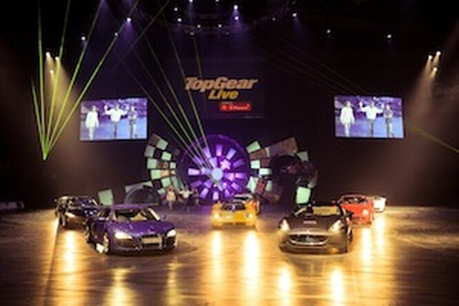 Подарите любимому шоу Top Gear Live