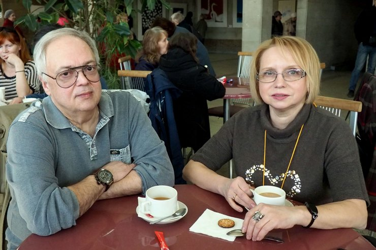 Ирина Мазуркевич иВладимир Файнштейн