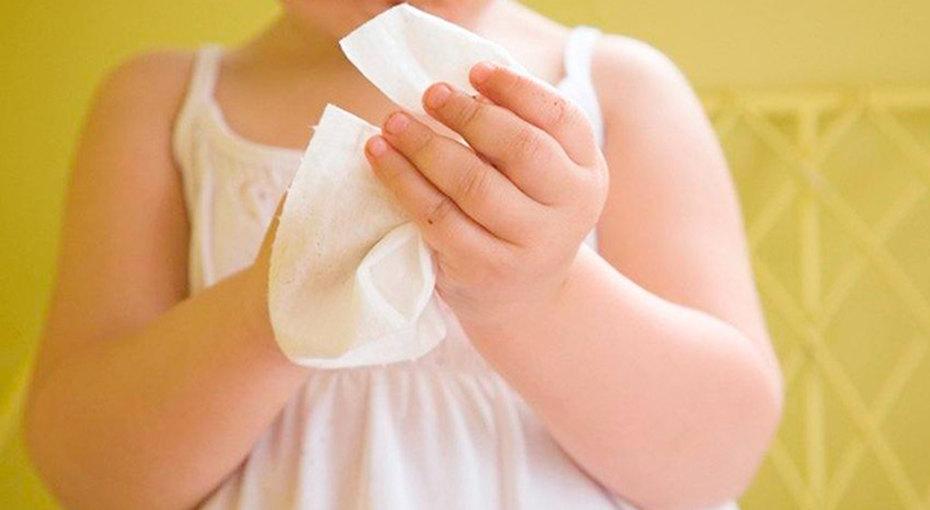 Детские салфетки могут вызвать пищевую аллергию - исследование