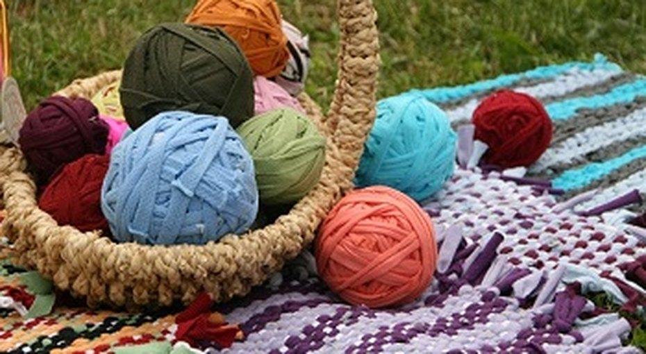 Плетеный ковер своими руками