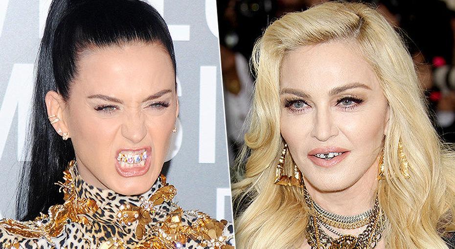 А взубах звезда блестит: самые странные стоматологические «украшения» артистов