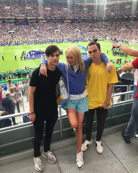 Яна, Андрей (слева) иНиколай