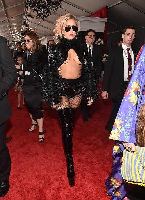 Леди Гага на«Грэмми-2017»