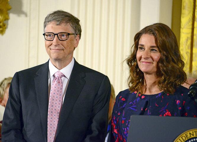 Билл и Мелинда Гейтс, фото Legion-Media фото