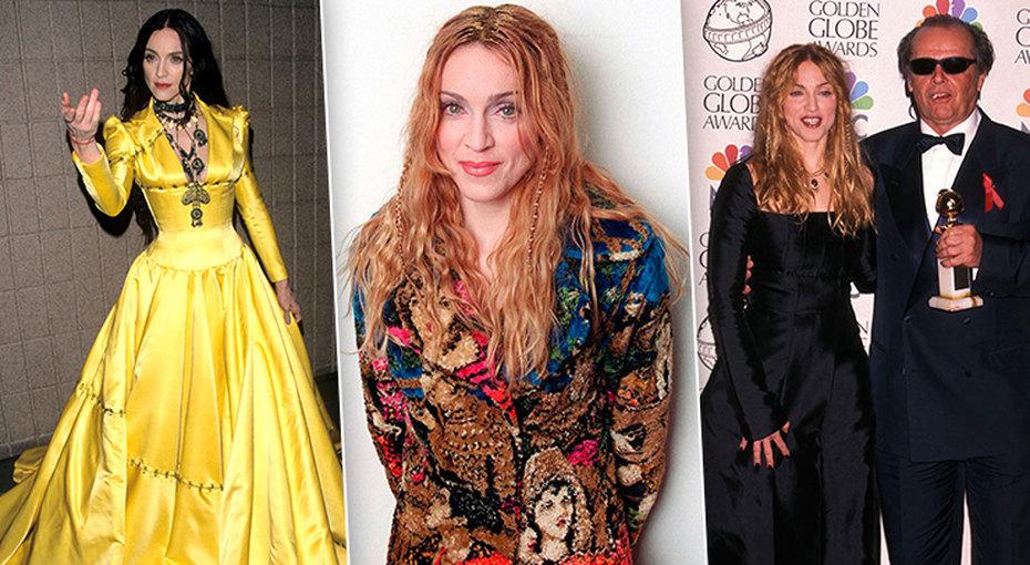 Эпатаж имодные эксперименты: эволюция стиля Мадонны