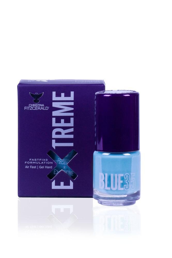 Лак для ногтей Extreme - Blue 35, Christina Fitzgerald, 1530 руб