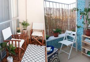 До ипосле: 8 идей пообустройству балкона квесенне-летнему сезону