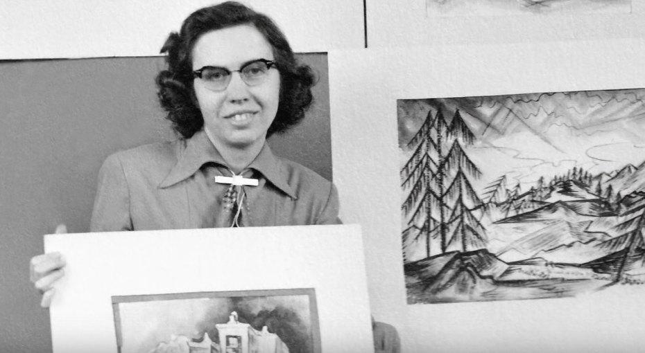 16 личностей водном теле: история художницы Ширли Ардель Мейсон