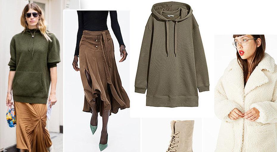 Идеальная покупка осени: платье-толстовка