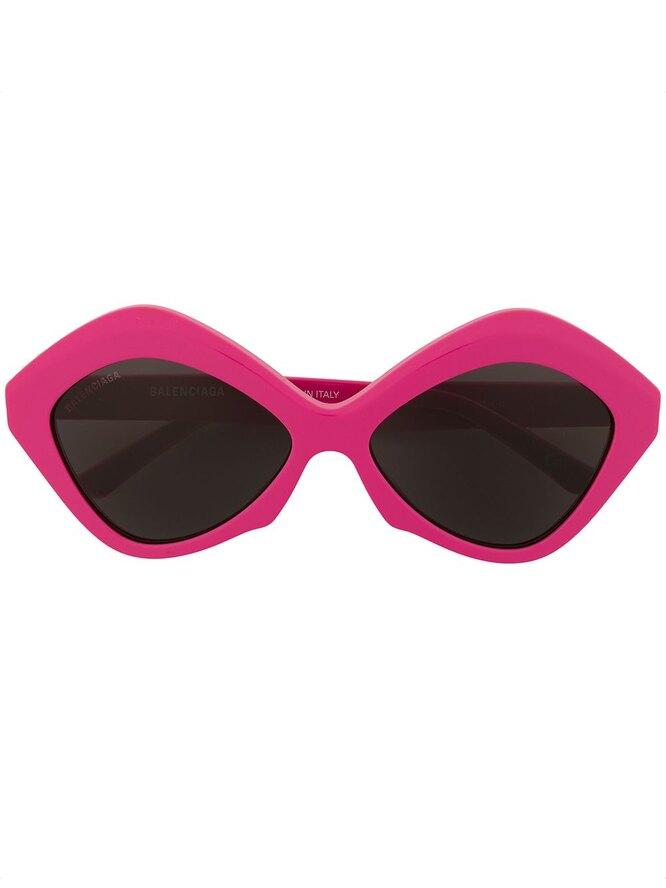 Cолнцезащитные очки в круглой оправе, Balenciaga,  25 640 руб