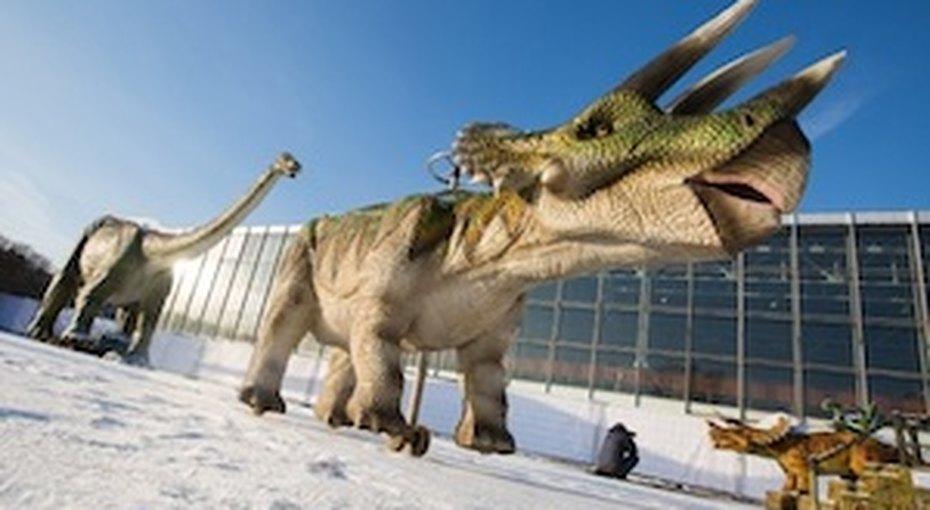 Динозавры наВВЦ