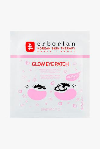 Тканевые патчи для области вокруг глаз с экстрактом лакрицы Glow, Erborian
