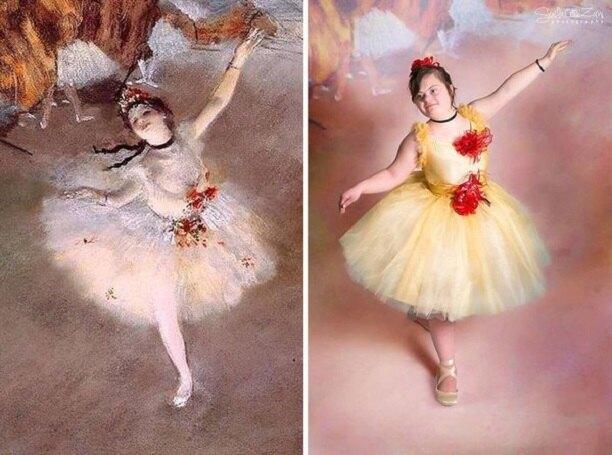 «Балерина», Эдгар Дега