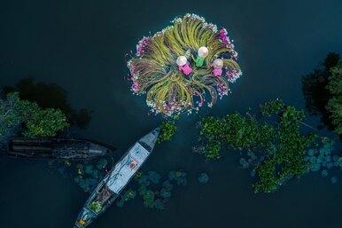 Невозможно поверить! 6 поразительно красивых фото, которые были сделаны спомощью дронов