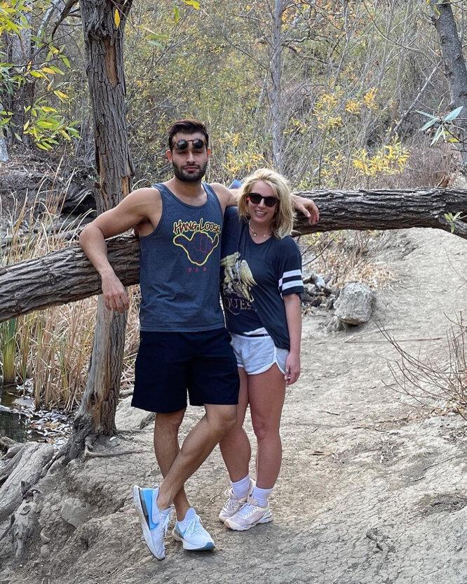 Бритни Спирс с бойфрендом на отдыхе