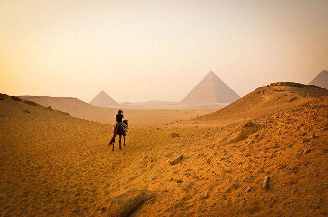 Египетские пирамиды. Ожидания